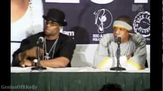 R. Kelly & Jay-Z: Best of Both Worlds Press Conference, 2002