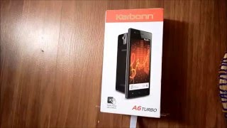 Karbonn A6 Turbo unboxing, Camera and Sample