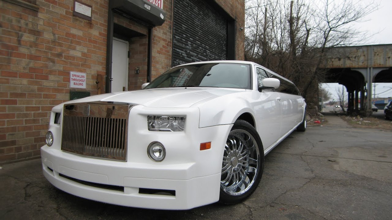 Chrysler 300 Limo w/ Jet Doors & WOW! what a limo! Chrysler 300 Limo w/ Jet Doors - YouTube