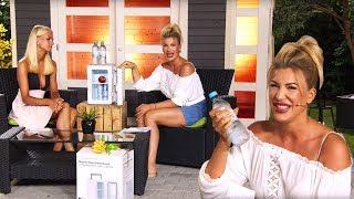 Vivien Konca hat den Kühlschrank immer dabei! Bei PEARL TV (Juni 2019) 4K UHD