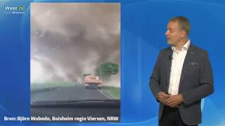 De heftige tornado van Viersen 16 mei 2018