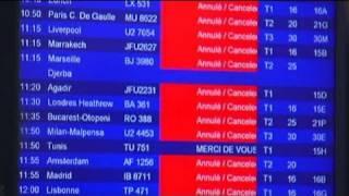 الإضرابات تعرقل الحركة الجوية في المطارات الفرنسية