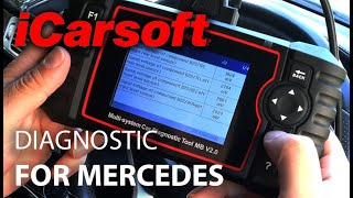 iCarSoft OBD Diagnostic MB 2.0 For Mercedes Review
