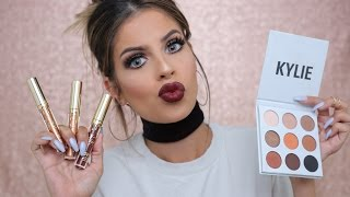 Kylie Jenner KYshadow & Birthday Collection Review and Tutorial