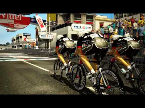 Pro Cycling manager Tour de France 2009 official HD video game trailer