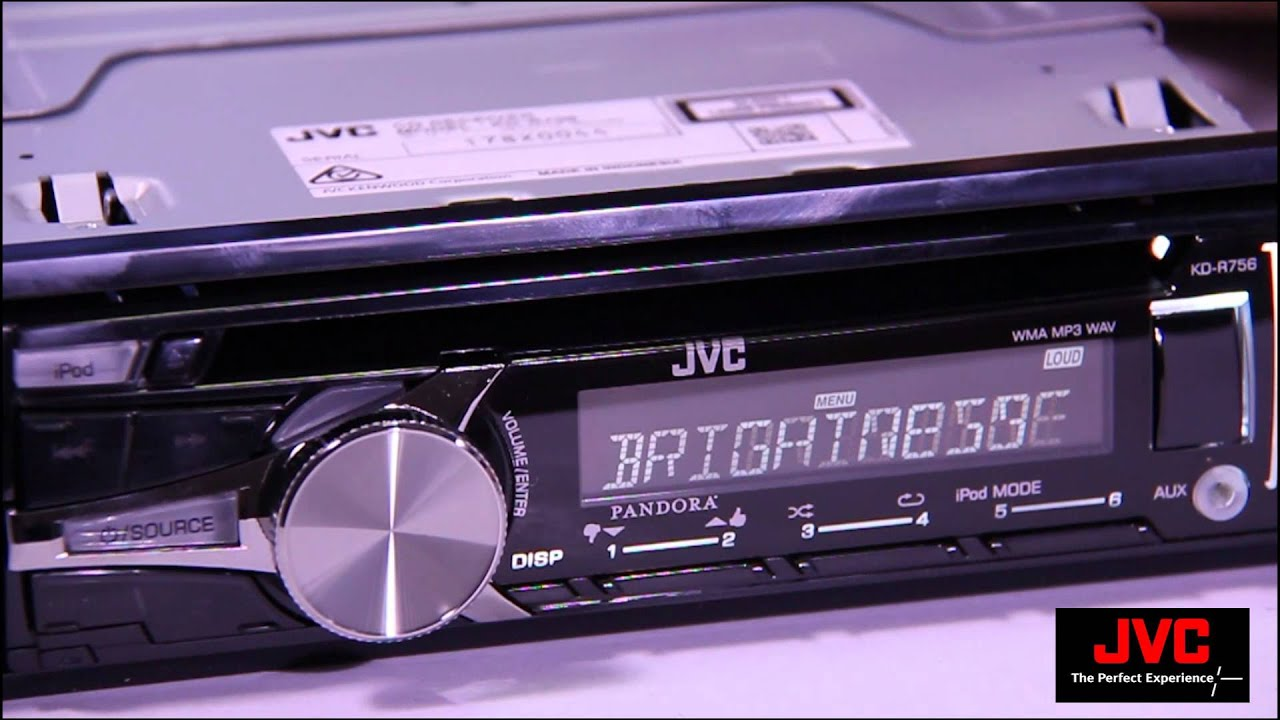 New Drivers: JVC KD-R756 Receiver