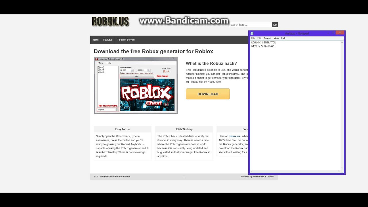FREE ROBUX GENERATOR NO SURVEY NO SCAM - YouTube
