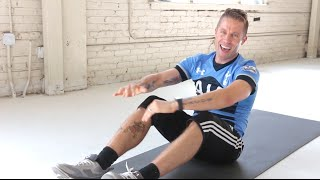 One-Minute Abs: Foot Touch Twist With Nicky Holender