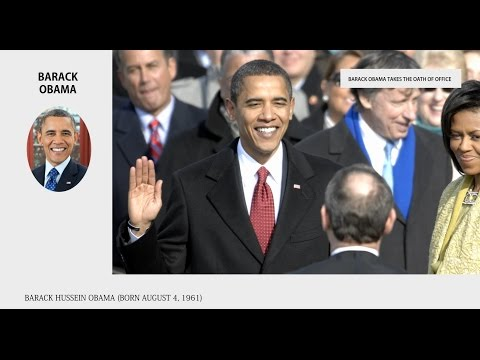 Barack Obama - Video Poll, vote now! Presidents of the United States Bios - Wiki Videos by Kinedio