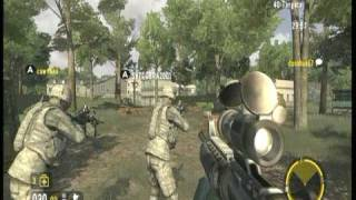 Americas Army True Soldiers - Firefight - MOUT