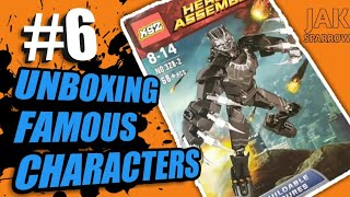 BLACK PANTHER/Unboxing famous characters/Lego toys Part 6