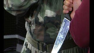 Защита от нападения с нож - документално видео! - майор Франц - урок 6-1 - Проект Самозащита