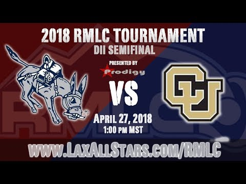 Colo. School Of Mines Vs. CU-Denver - RMLC Semifinals, MCLA D2