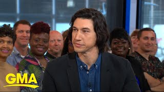 Adam Driver on his new Broadway play, 'Burn/This'