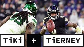 Lamar Jackson's Not Playing Football, He's Playing Lamar-Ball | Tiki + Tierney