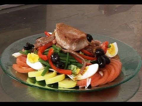 Recette de salade niçoise revisitée