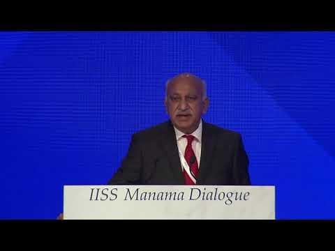 MJ Akbar on international partnerships in the Middle East