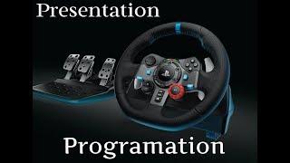 Comment configurer son volant G29, G920 + présentation du volant + config sur ets2 et ats