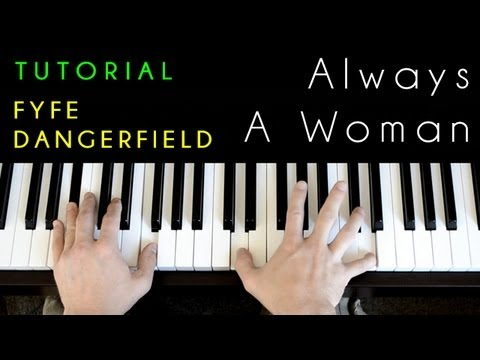 Billy Joel Always A Woman Piano Cover Tutorial Youtube