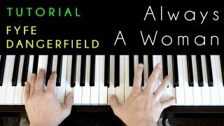Billy Joel - Always A Woman (piano cover & tutorial)