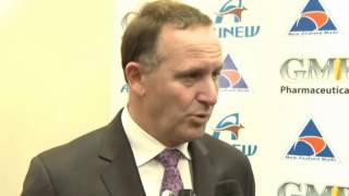 NZ Prime Minister John Key Officially Opens GMP