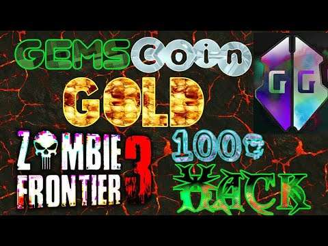 """Zombie Frontier 3""""  Gems' Coin & Gold Hack"""