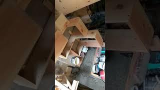 Furniture Rak sudut Yogyakarta (industri interior mebel modern) #furniture #interior #raksudut #rak