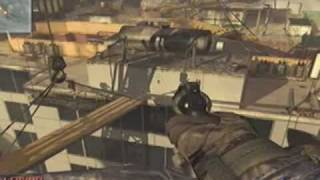 MW2:across map throwing knife