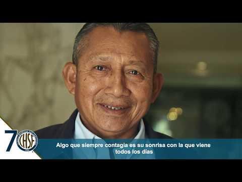 Galindo López 34 años dentro de nuestro hospital