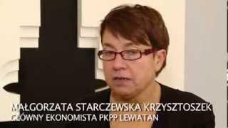Małgorzata Starczewska-Krzysztofek o bezrobociu: pomogła pogoda (Gospodarka)