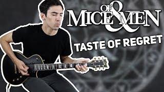 OF MICE & MEN   Taste Of Regret   Guitar Cover + TABS