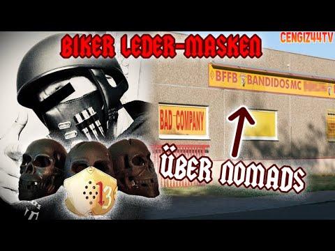 Cengiz44TV   Hijack_Mask Berlin Ledermasken   Wie läuft eine Charter eröffnung mit Nomads