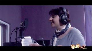 «Անբան Հուռին» ձայնագրման ստուդիայում:
