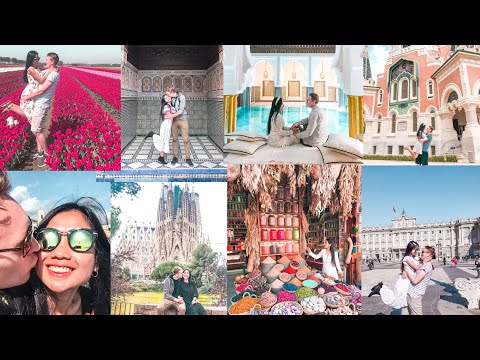 OUR TRAVEL JOURNEY 2019 | 🇳🇱 🇮🇩🇨🇭🇮🇹 🇫🇷 🇲🇨 🇦🇩 🇪🇸 🇱🇺 🇧🇪 🇲🇦