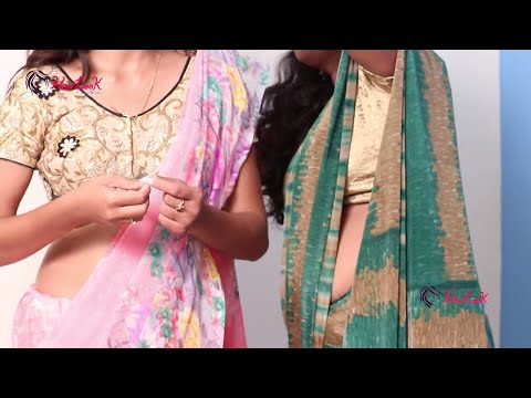 Learn How To Wear Indian Designer Saree Blouses