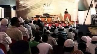 Mauritius Jalsa Salana 16-18 Sep 2011, Ahmadiyya Muslim Urdu News Report