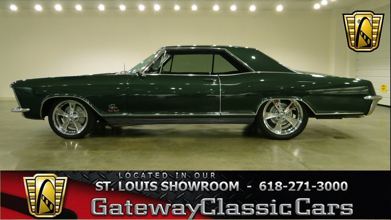 1965 buick riviera 6239 gateway classic cars st louis youtube. Black Bedroom Furniture Sets. Home Design Ideas