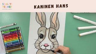 Skal vi tegne en kanin?