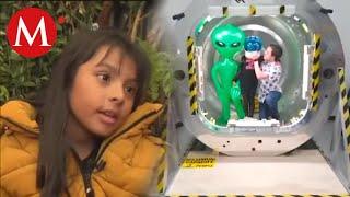 Adara Pérez, niña genio mexicana visita a la NASA
