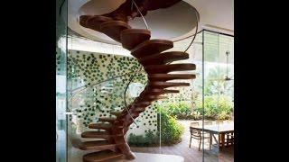 Виды лестниц на мансарду. Красивые винтовые лестницы(, 2014-08-09T11:01:18.000Z)