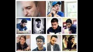Pragg, Nihal, Amonatov, Martirosyan, Idani - Triple C chess club November Blitz 2018