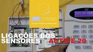 Central Active 20 JFL Alarme | Sensores e Ligações | Parte 4