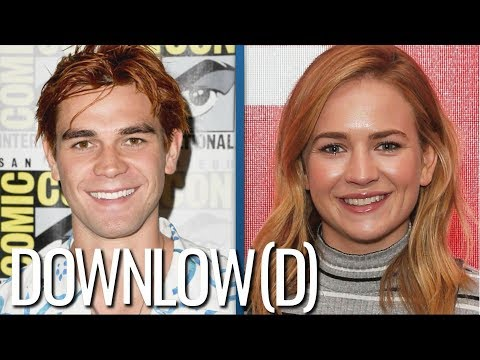 KJ Apa And Britt Robertson Spotted Kissing At Comic-Con Party | The Downlow(d)
