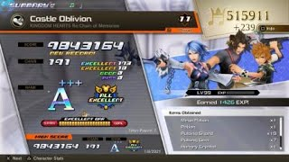 KH Melody of Memory - Castle Oblivion, proud, all excellent