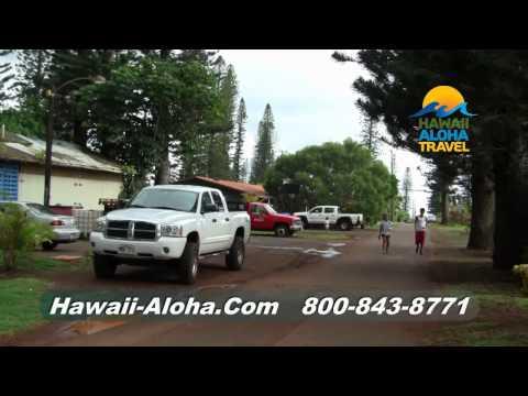 Hawaii Vacation Connection - Exploring Lanai CIty - Hawaii