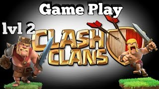 ♎Clash of Clans♎+Using the King lvl 2