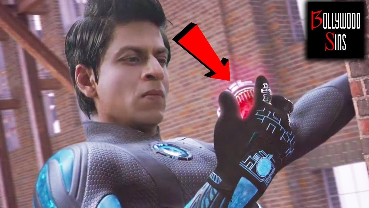 Pww Plenty Wrong With Raone 194 Mistakes Full Movie Shahrukh Khan Bollywood Sins 14