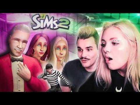 Играем с Юликом в Sims 2 I Сестры Гонгадзе