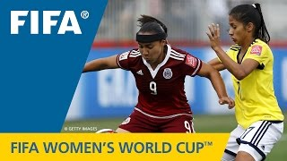 HIGHLIGHTS: Colombia v. Mexico - FIFA Women's World Cup 2015