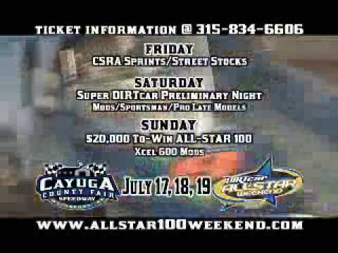All-Star Weekend 100 at Cayuga County Fair Speedway